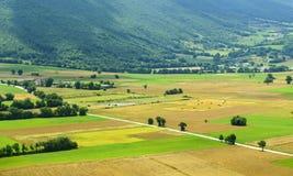 Forca Canapine (Umbria) Royaltyfri Fotografi