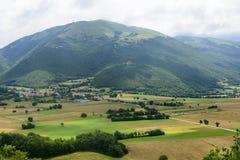 Forca Canapine (Umbria) Stock Photos