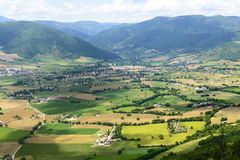 Forca Canapine (Umbria) Royalty Free Stock Images