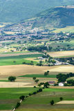 Forca Canapine (Umbrien) Stockfoto