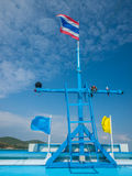 Forcastle de bateau de croisière Image stock