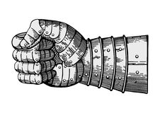 Force concentrée illustration stock