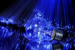 Force de l'électricité Photos libres de droits