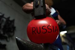 Force de la Russie photo stock