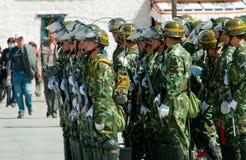 Force du Thibet Photos libres de droits