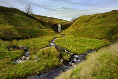 Force Gill Waterfalls Royalty Free Stock Images