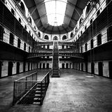 Force Hall de prison photographie stock