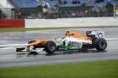 Force india F1 Royalty Free Stock Photos