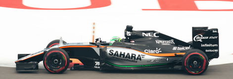 Force India Mercedes VJM09  Grand Prix F1 2016 Royalty Free Stock Images