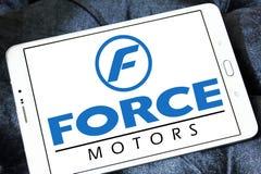 Force motors logo Stock Photos