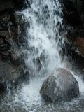 Force of Nature. Water Gush Royalty Free Stock Image