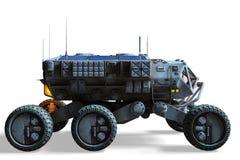 Force terrestre explorant illustration de vecteur