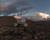 Force terrestre explorant photo libre de droits