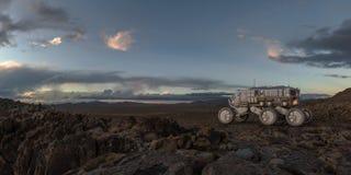 Force terrestre explorant photographie stock libre de droits