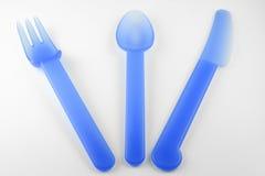 Forcella, cucchiaio, lama Fotografia Stock Libera da Diritti