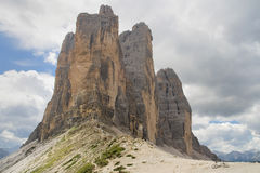 Forcella di Lavaredo Royalty Free Stock Image