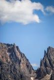 Forcella Sassolungo, Dolomiti, Trentino Alto Adige, Italië Stock Foto