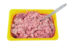 Forcemeat Royalty Free Stock Photography