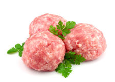 Forcemeat with greens Stock Images