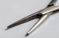 Forceps de suture Photos stock