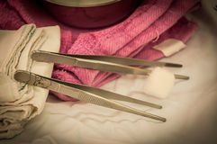 Forceps Royalty Free Stock Photography
