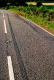 forcerad vägplats Fotografering för Bildbyråer