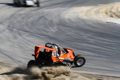 forcerat racecar arkivfoto