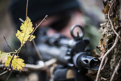Forces armées Images libres de droits