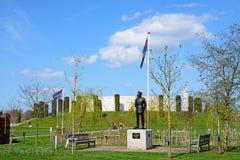 Forces armées commémoratives à l'arborétum commémoratif national, Alrewas photos libres de droits
