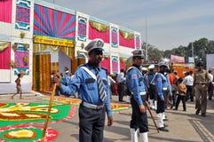 Forces de garantie indiennes Image libre de droits