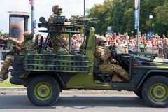 Forces spéciales polonaises de GROM Photographie stock libre de droits