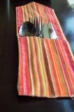 Forchetta, cucchiaio e lama Fotografia Stock Libera da Diritti
