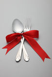 Forchetta e cucchiaio Immagine Stock Libera da Diritti