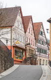 Forchtenberg em Hohenlohe imagens de stock