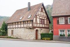 Forchtenberg em Hohenlohe foto de stock royalty free