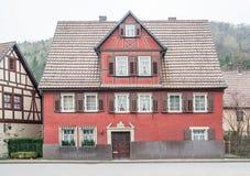 Forchtenberg в Hohenlohe стоковое изображение
