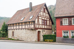 Forchtenberg в Hohenlohe стоковое фото rf