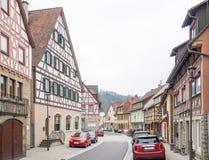 Forchtenberg в Hohenlohe стоковые фотографии rf