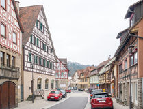 Forchtenberg in Hohenlohe Royalty Free Stock Photos