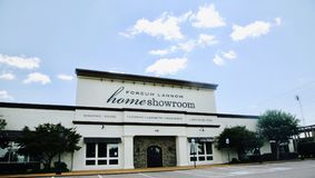 Forcum Lannom Home Showroom Jackson, TN. stock photos