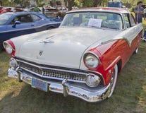 Ford 1955 incorona Port Victoria Fotografie Stock