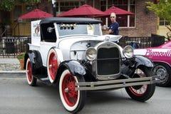 Η Ford το 1928 διαμορφώνει ένα ανοιχτό φορτηγό ανοικτών αυτοκινήτων Στοκ φωτογραφία με δικαίωμα ελεύθερης χρήσης