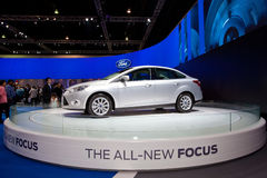 Ford the all new focus car Royalty Free Stock Photos