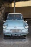 Ford Anglia που χρησιμοποιείται στους κινηματογράφους του Harry Potter Στοκ Εικόνες
