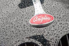 Ford Anglia badge Stock Photography