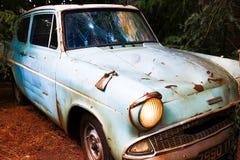 Ford Anglia in der Wizarding-Welt von Harry Potter Lizenzfreie Stockfotografie