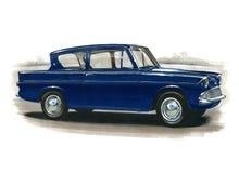 Ford Anglia 105E illustration de vecteur