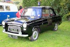 Ford Anglia Police bil Arkivbild