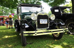 Ford A in Antique Car Show Royalty Free Stock Photography