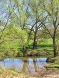 Ford através do rio Fotografia de Stock Royalty Free